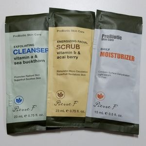 Pierre Probiotic Skincare Trio Trial Set